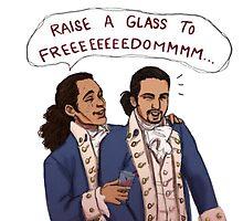 Hamilton - Raise A Glass To Freedom by ilirida