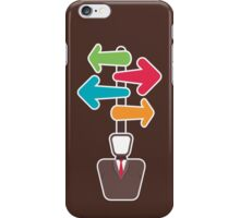 men with different direction iPhone Case/Skin