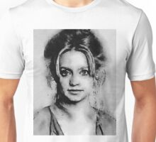 Goldie Hawn Hollywood Icon by John Springfield Unisex T-Shirt