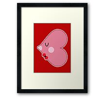 Pocket man: Heartfish 2 Framed Print