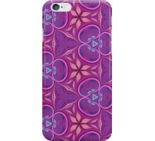 Abstract Purple and Pink Pattern iPhone Case/Skin