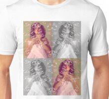 Girl in bubbles Unisex T-Shirt