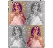 Girl in bubbles iPad Case/Skin