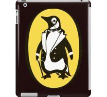 penguin : gentleman iPad Case/Skin