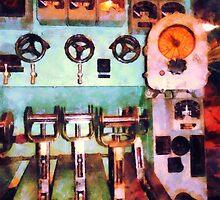 Electrical Control Room by Susan Savad