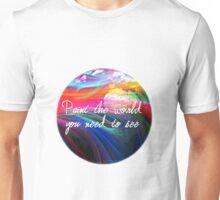 u2 cedarwood road paint  Unisex T-Shirt