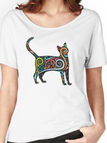 Art Cat Women's Relaxed Fit T-Shirt