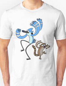 Regular show - mordecai and rigby T-Shirt