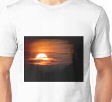 Ege Denizi Üzerinde Gün Batımı Unisex T-Shirt
