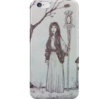 The Bored Enchantress iPhone Case/Skin