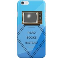 Motivational Books Quote iPhone Case/Skin