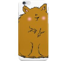 Fat hamster iPhone Case/Skin