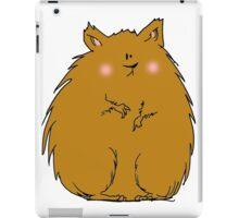 Fat hamster iPad Case/Skin