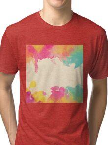 Watercolor Texture Tri-blend T-Shirt
