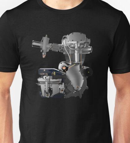 Velocette Thruxton Engine Unisex T-Shirt