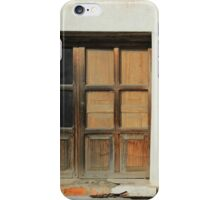 Window in a White Wall iPhone Case/Skin