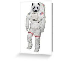 Space Panda 0.1 Greeting Card