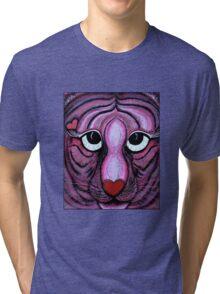 Love Tiger Tri-blend T-Shirt