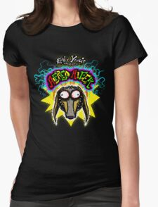 EMILY YOUCIS presents ALFRED ALFER  TEE Womens Fitted T-Shirt