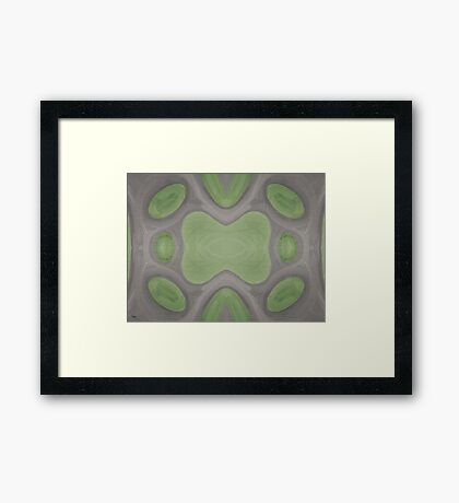 ABSTRACT 820 Framed Print