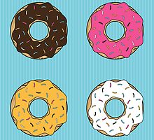 Tasty Donuts Pattern by Orce