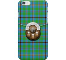 Clan Snodgrass Tartan And Sporran iPhone Case/Skin