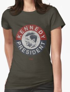 Vintage 1960 Kennedy for President T-Shirt Womens Fitted T-Shirt