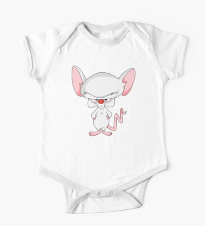 Pinky and The Brain - Brain One Piece - Short Sleeve