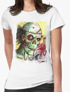 Patient Zero Womens Fitted T-Shirt