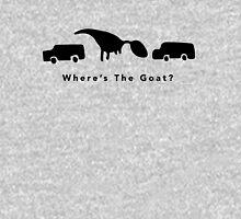 Where's The Goat? (Black) Unisex T-Shirt