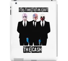 Payday 2 Cash iPad Case/Skin