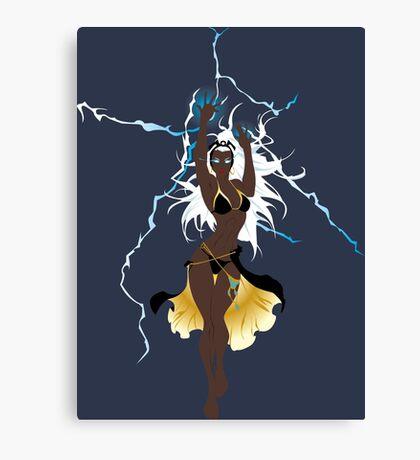 Storm Xmen Canvas Print