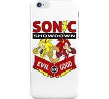 Sonic Showdown iPhone Case/Skin