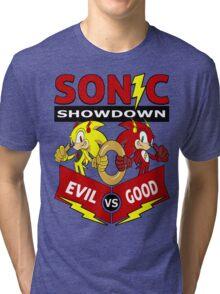Sonic Showdown Tri-blend T-Shirt