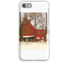 Big Red Barn iPhone Case/Skin