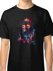 tardis dr who paint  Classic T-Shirt