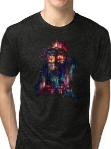 tardis dr who paint  Tri-blend T-Shirt