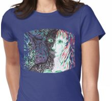 the Light after Dark Womens Fitted T-Shirt