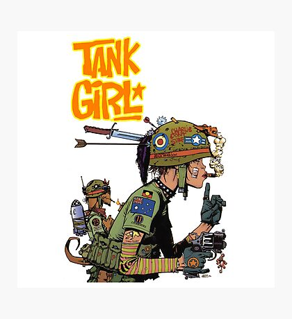 TANK GIRL Photographic Print