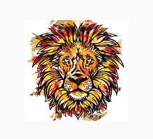 Lion Head Grunge Effect Design Unisex T-Shirt