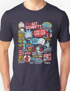 Rick and Morty Quotes T-Shirt