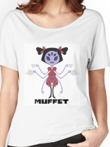 Muffet Color Women's Relaxed Fit T-Shirt