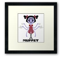 Muffet Color Framed Print