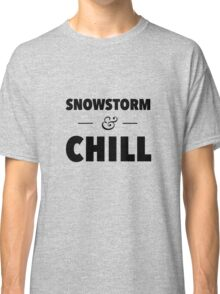 Snowstorm and Chill Classic T-Shirt