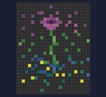 Pixel Flower Kids Tee