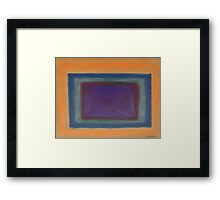 ABSTRACT 412 Framed Print