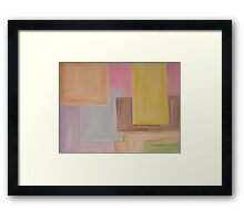 ABSTRACT 605 Framed Print