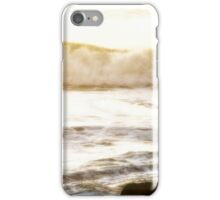 Yachats Oregon - Watching The Sunset iPhone Case/Skin