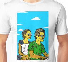 Brad and Ange - www.art-customized.com Unisex T-Shirt