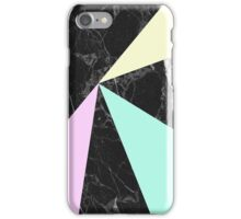 Marble & pastel colors  iPhone Case/Skin
